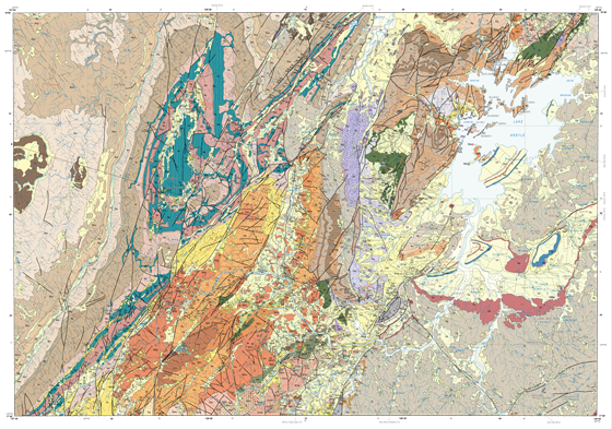 Western Australian geological maps now available
