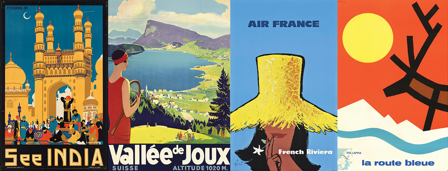 5 Ways to Decorate your Home with Vintage Travel Posters