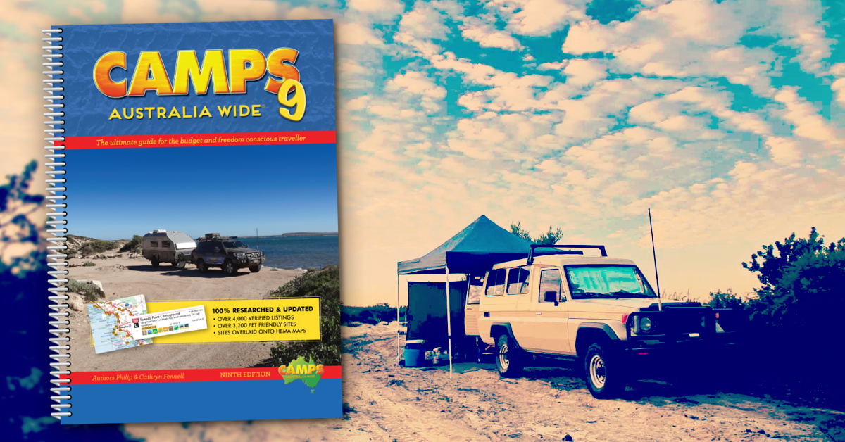 "Camps 9: New Edition of Australia's ""Camping Bible"" Just Announced"