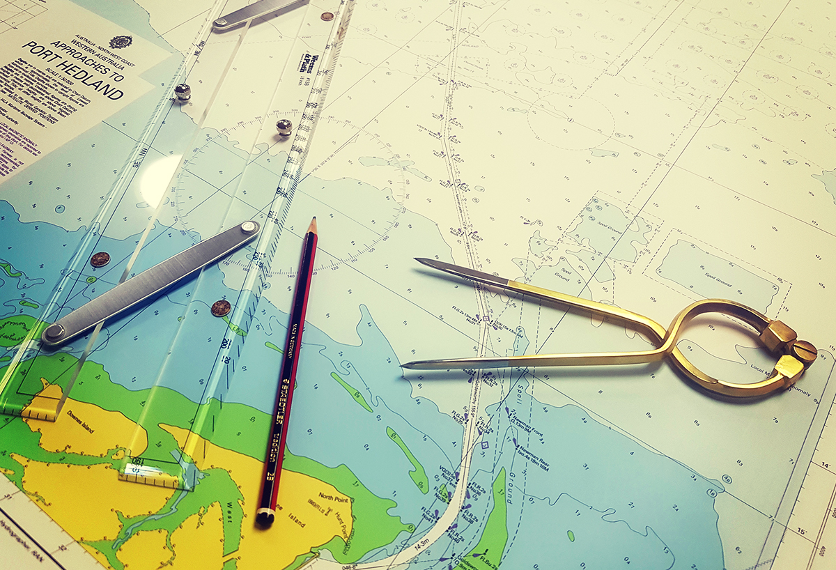 4 Navigation Tools you Need for Chart Reading and Plotting Courses