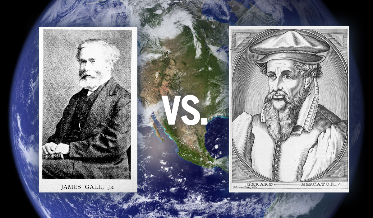 Should World Maps in Classrooms be Mercator or Peters?