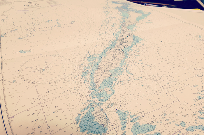 An Up to Date Nautical Chart Won't Let you Down