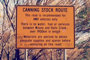 Canning Stock Route