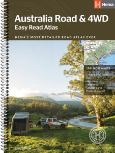 Hema Australia Easy Read Road & 4WD Atlas