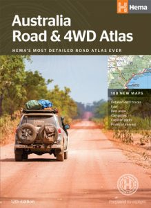 Hema Australia Road & 4WD Atlas (Perfect Bound)