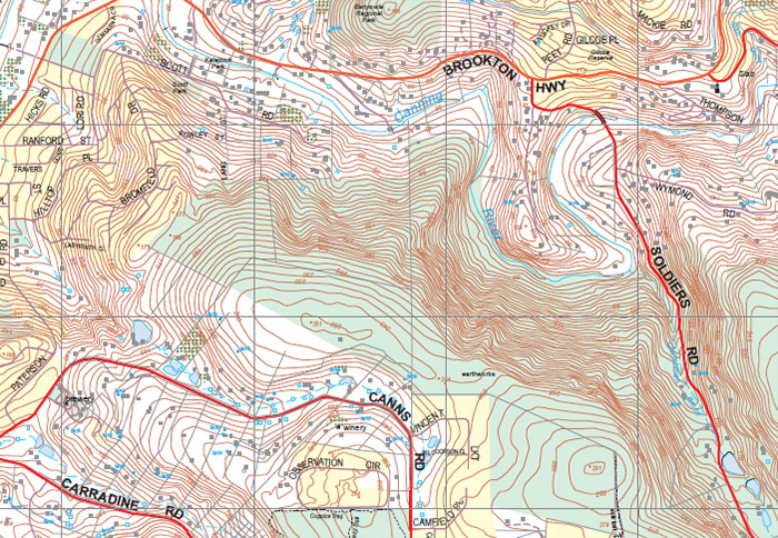 Topographic Maps For Every Purpose The Chart Map Shop