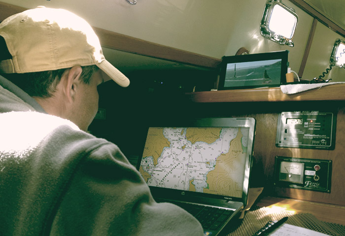 Offshore & Coastal Navigation with Digital QuickCharts