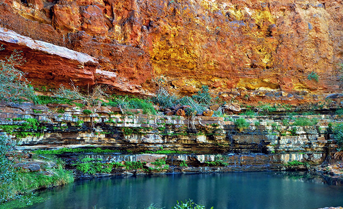 Amazing Karijini national park gorge