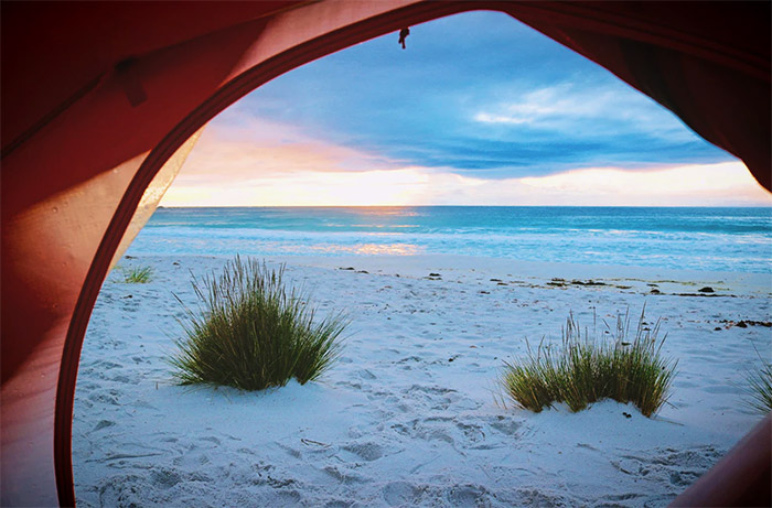 Beach Camping Near Perth - 5 Great Waterfront Campsites